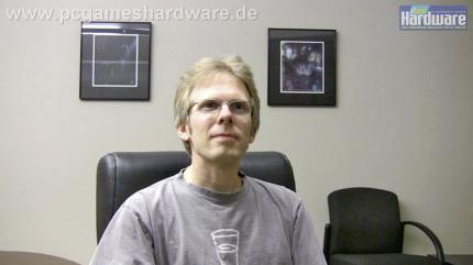 Video: John Carmack von id Software im Interview