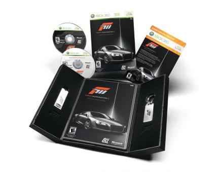 The Collector's Edition of Forza Motorsport 3
