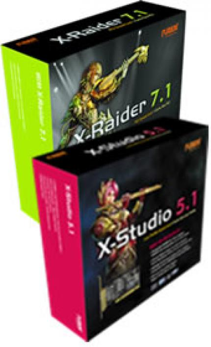 Auzentech introduces new X-Raider 7.1 and X-Studio 5.1 sound cards