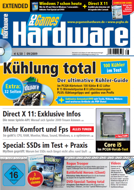 PC Games Hardware 09/2009 ab 5.8. im Handel  (4)