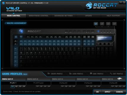 Roccat Valo reviewed: Software