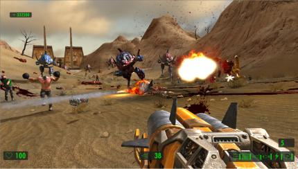 Screenshot von Croteams Serious Sam HD