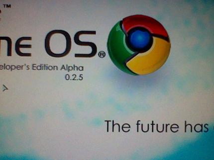 Pictures of the Google Chrome OS Alpha (18)