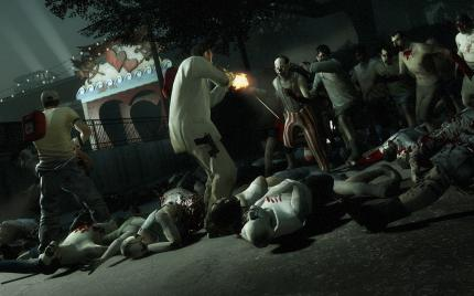 New Left 4 Dead 2 screenshots from the Dark Carnival campaign.