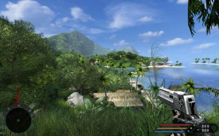 Far Cry with Advanced Graphics Mod (AGM), Exclusive Content Update (ECU), PCGH Tweaks and enhanced Shader at 2560 x 1600, 16xS/16:1 AF (4)