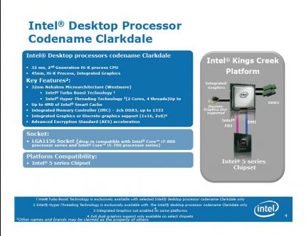 Core i3 Clarkdale: Peek under the heatspreader of the 32nm CPU and 45nm GPU combo