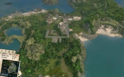 Tropico 3: Benchmark 'Lowest Zoom Level'