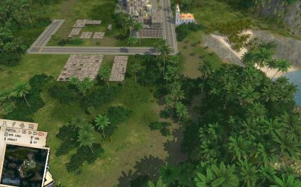 Tropico 3: Benchmark 'High Zoom Level'