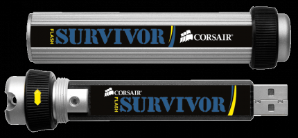 usb stick corsair survivor mit 64 gbyte vorgestellt. Black Bedroom Furniture Sets. Home Design Ideas