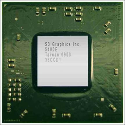 Chrome 5400E Embedded Graphics Processor
