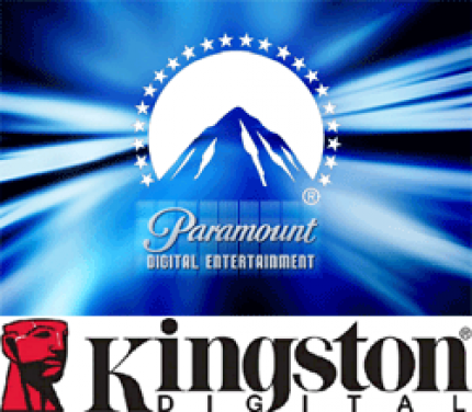 Kingston/Paramnount: Filme auf Flash-Speicher