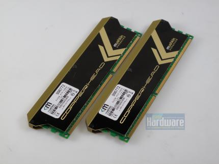 Mushkin Blackline Copperhead: 2 x 2048 MiByte DDR3-1600, 7-8-7-20, 1,65, Volt (2)