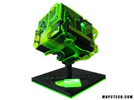 The Nvidia Ion Cube PC case mod by mnpctech.com