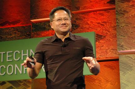 Nvidia CEO Huang thinks the action against Intel could transform the computer industry.