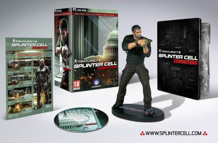 Splinter Cell Conviction: Limited Collector's Edition mit Sam-Fisher-Statue kommt