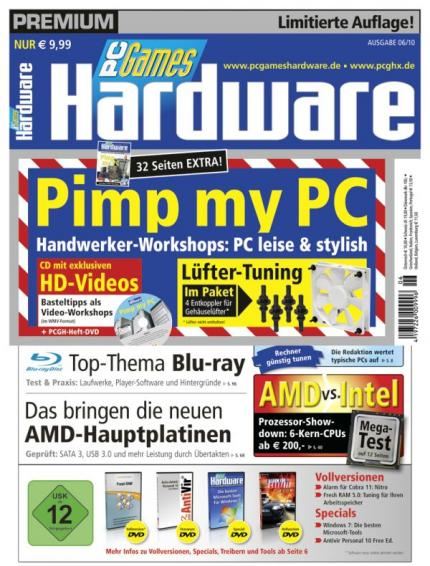 PC Games Hardware Premium 06/2010: Cover