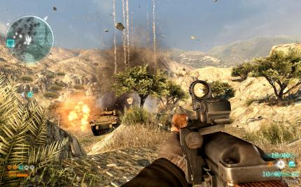 Medal of Honor MP-Beta: Es 'regnet' auf den Bradley