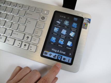 asus eee keyboard im hands-on-test - ersatz für einen wohnzimmer-pc?