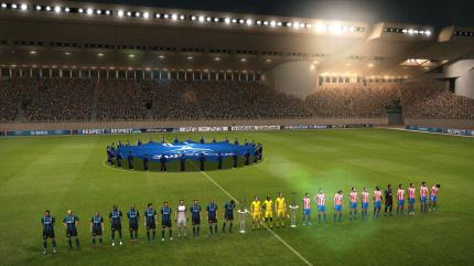 PES 2011 - Champions League-Match