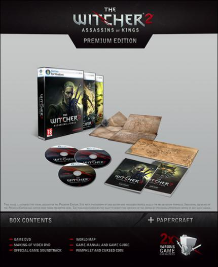 The Witcher2 Premium Edition