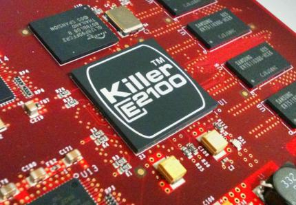 Bigfoot-Chip Killer E2100 (Beispiel-Foto, kein Gigabyte-Board)