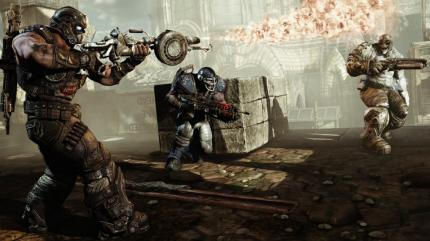 Gears of War 3 als illegaler Download.