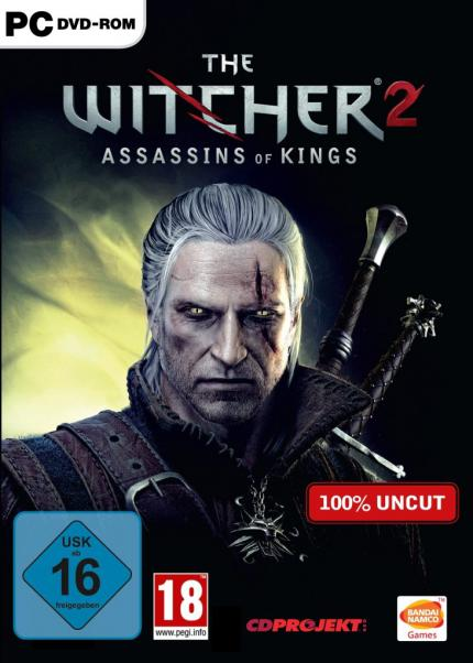 Witcher 2: Finale Verpackung