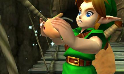 Zelda: Ocarina of Time 3DS mit neuen Screenshots.