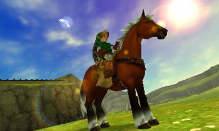 Zelda: Ocarina of Time.