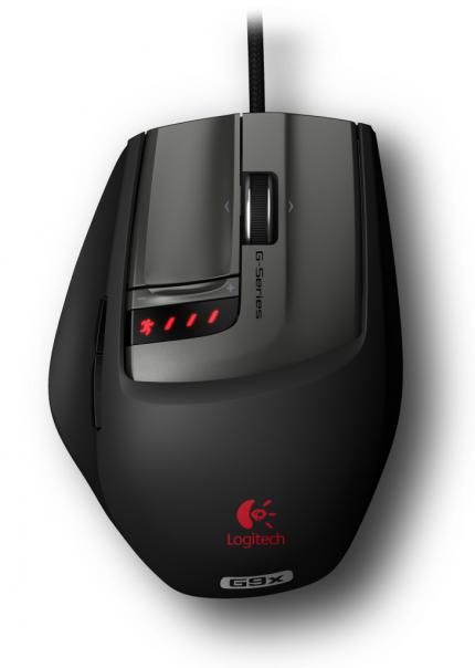 Logitech G9X Laser Mouse im Standarddesign