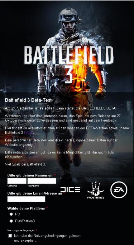 Battlefield 3 Beta-Test