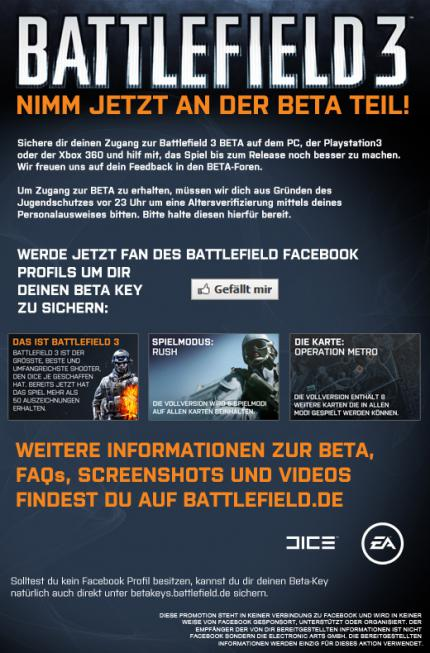 Battlefield 3 Open Beta