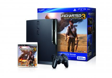 Uncharted 3-Konsolen-Bundle