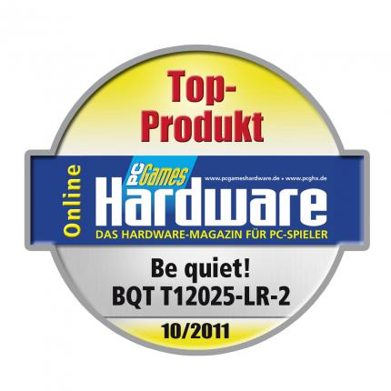 Top-Produkt-Award für den Be quiet BQT 12025-LR-2