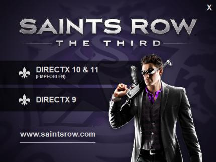 Saints Row The Third: DX9 oder doch DX11/10?