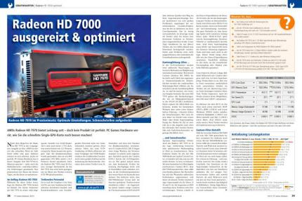 PC Games Hardware 03/2012: Praxis Radeon HD 7000