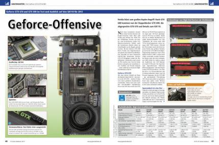PCGH 07/2012: Artikel Geforce-Offensive