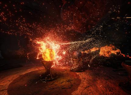 Unreal Engine 4: GPU particles - Feuer