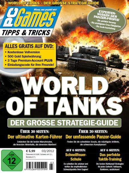 World of Tanks: PC-Games-Sonderheft zum Panzer-MMO (1)