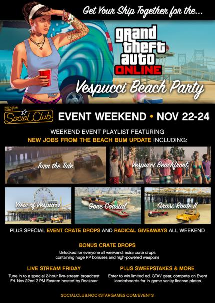 GTA 5: Special-Event Vespucci Beach Party steigt am Wochenende (5)