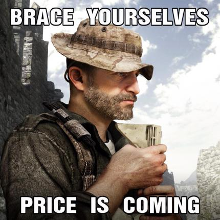 Price is coming Teaser Modern Warfare 4