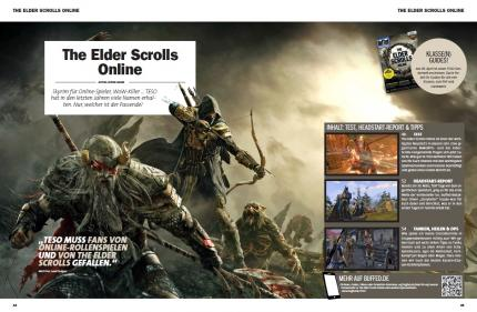 Schwerpunkt The Elder Scrolls Online in buffed 05-06/2014