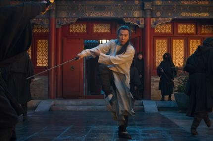 Donnie Yen in Netflix Tiger and Dragon II