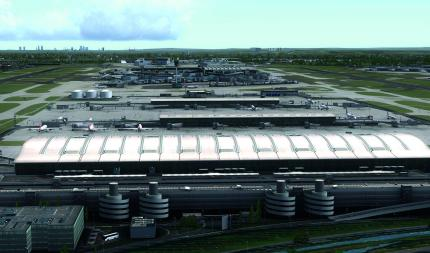 Mega Airport London Heathrow für Microsoft Flugsimulator X (1)