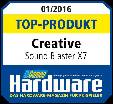 Creative Sound Blaster X7 mit Top-Produkt-Award