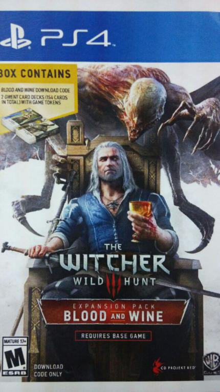 The Witcher 3: Cover von Blood & Wine geleakt