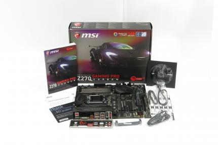MSI Z270 Gaming Pro Carbon: Packungsinhalt