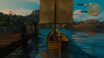 The Witcher 3 (DX11), PCGH-Testszene 'Boat Trip'