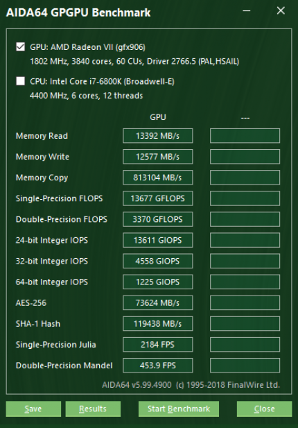 Radeon VII im Test: Benchmarks