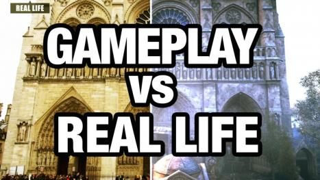 Assassin of Creation: Unity Against. Real life in the video